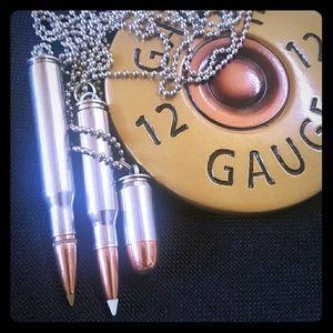 Jewelry - Handmade Bullet Casings (Empty) Necklaces
